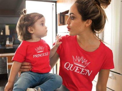 Rodinný set red Princess Queen