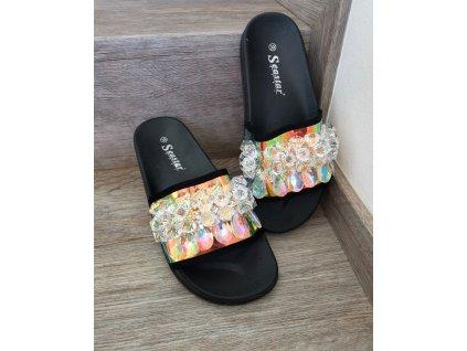 Pantofle kamínky