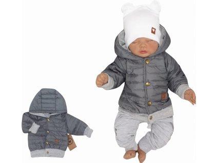 modna kurtka jesienna, wiosenna dla niemowlaka, bejsbolowka pikowana (1)