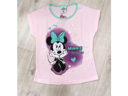 Tričko Minnie růžovo/fialové
