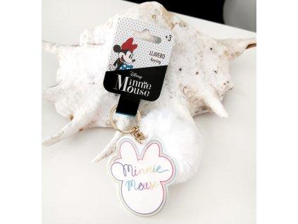 Přívěšek Minnie bílá