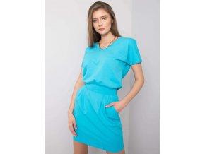 pol pl Niebieska sukienka na co dzien Aimee RUE PARIS 362846 1