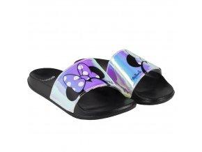 Pantofle Minnie černé