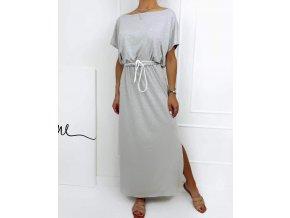 Dlouhé bavlněné šaty