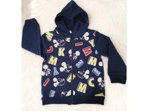 Námořnicky modrá mikina Mickey