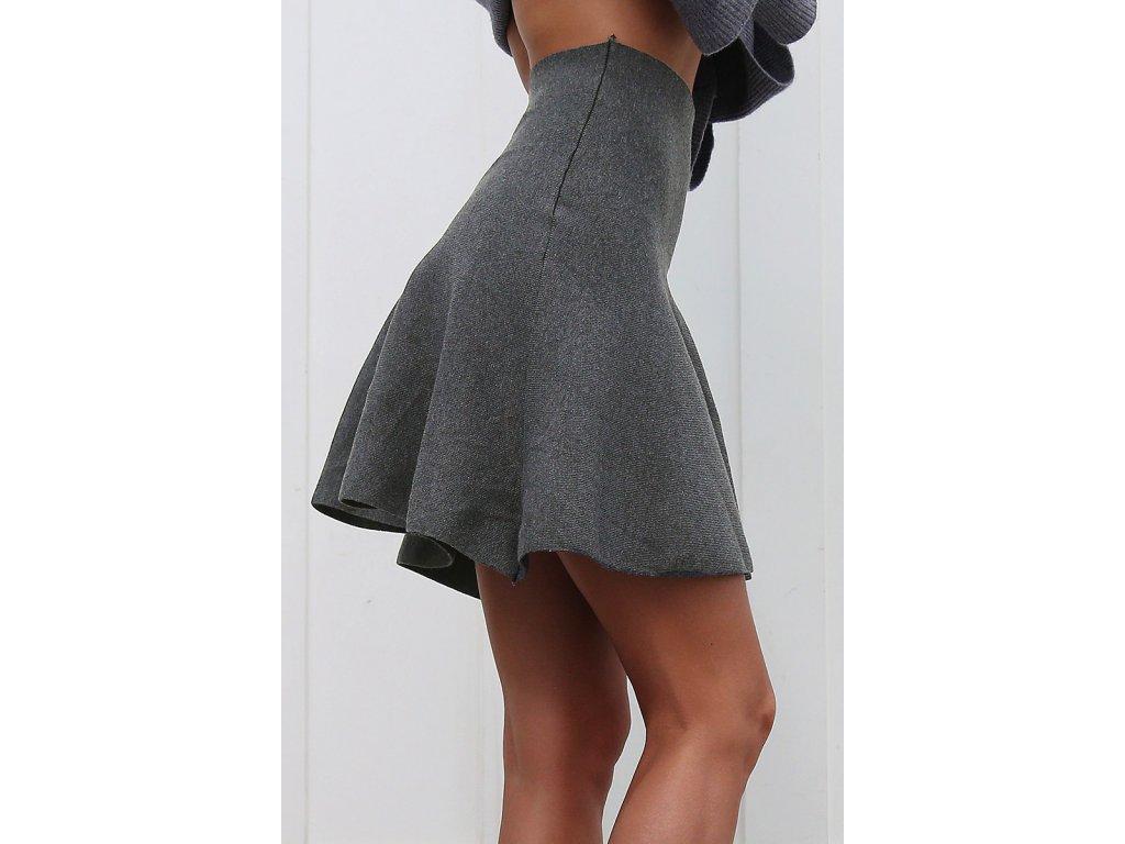 aaa970cf546c Dámská sukně s vysokým pasem - NAKUPZAHUBICKU.CZ