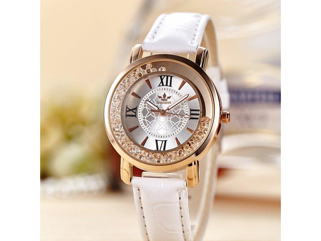 1af711455f2 Luxusní dámské hodinky s krystaly - SLEVA 60% - NAKUPZAHUBICKU.CZ