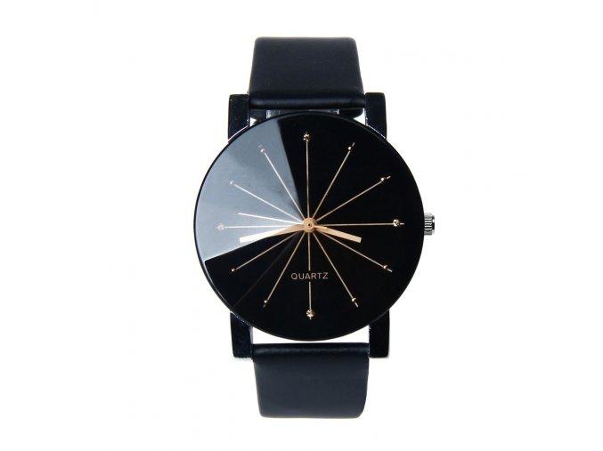 Dámské módní kožené hodinky