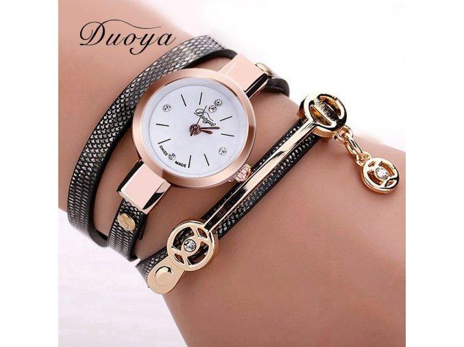 Luxusní dámské módní hodinky (Barvy hnědá)