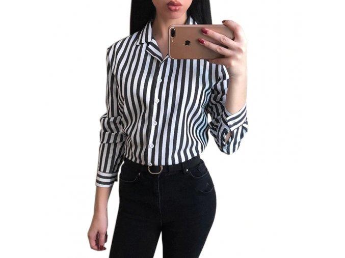Pruhovaná košile