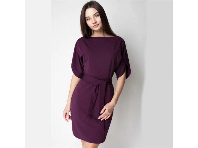 Dámské šaty s dlouhým rukávem