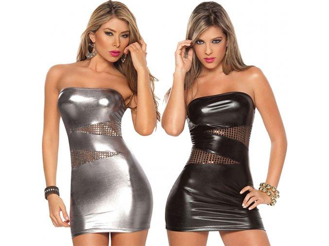 Dámské párty šaty (barva černá, Velikost Univerzální)