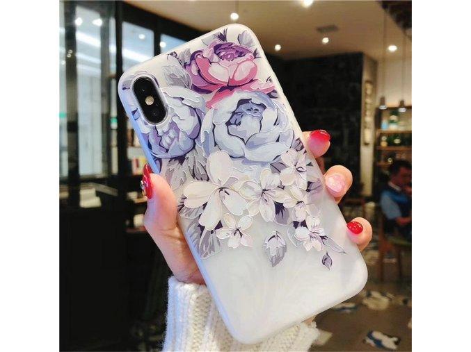 Obal na iPhone s květinami