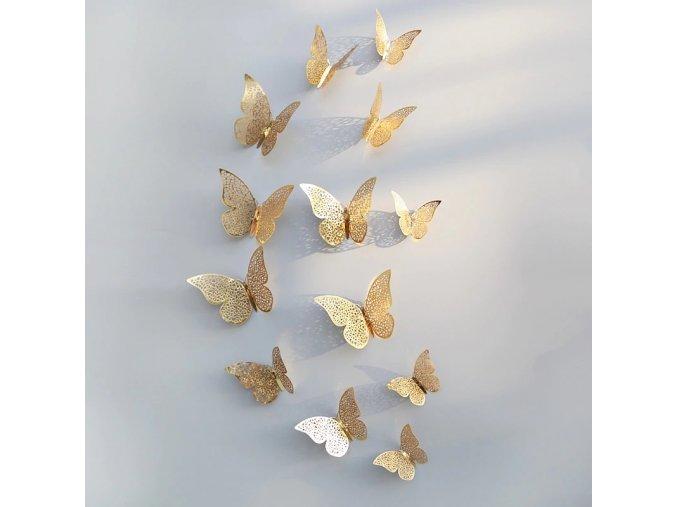 Dekorativní motýlci na zeď