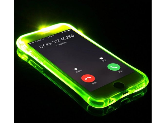 Svítící obal na iPhone