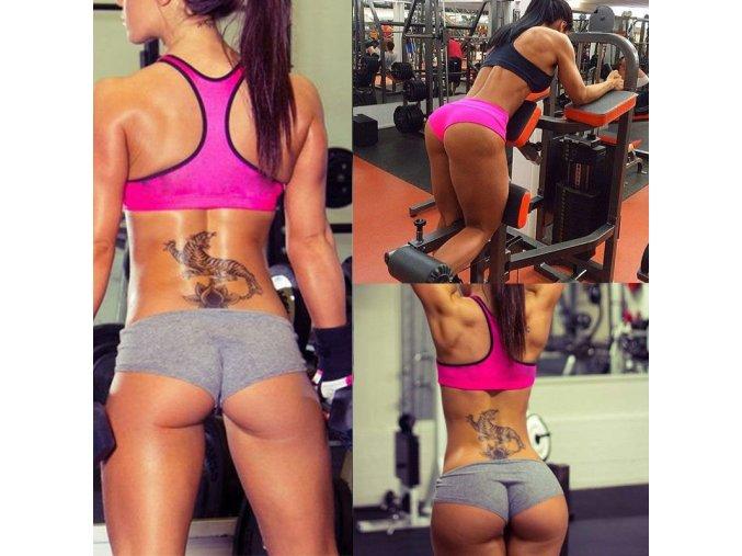 Dámské fitness šortky