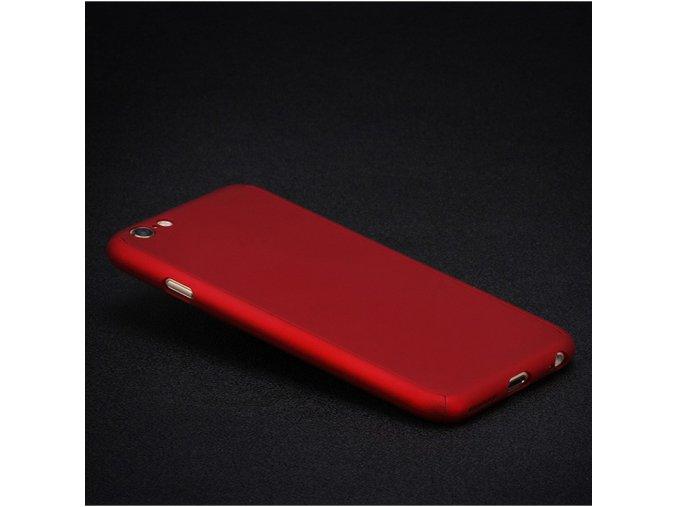 Pevný obal na iPhone červený