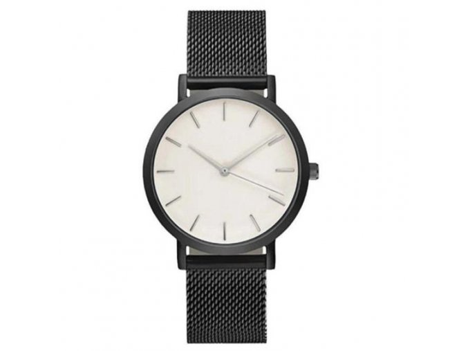 Stylové kovové hodinky