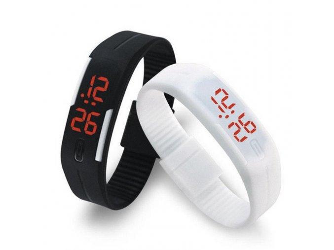 Digitální silikonové hodinky
