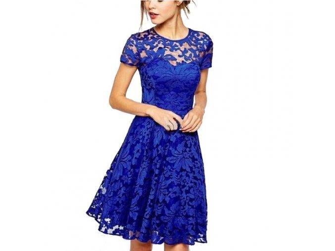 Dámské šaty s krátkým rukávem Charlotte