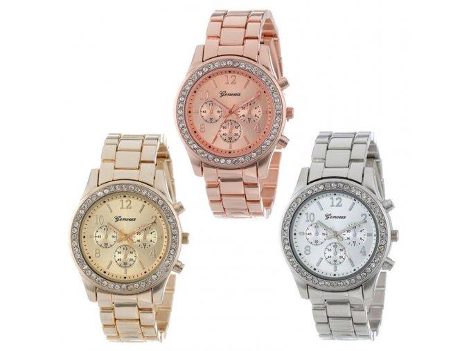 Dámské hodinky Susenstone - 3barvy (Varianta stříbrná)