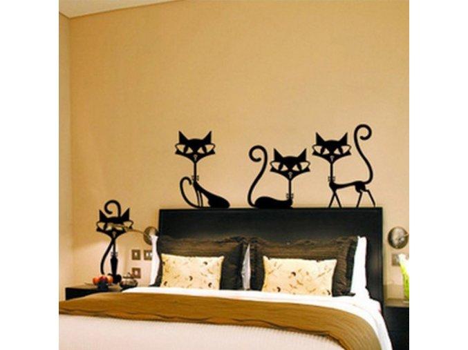Samolepka na zeď kočky - SLEVA 30%