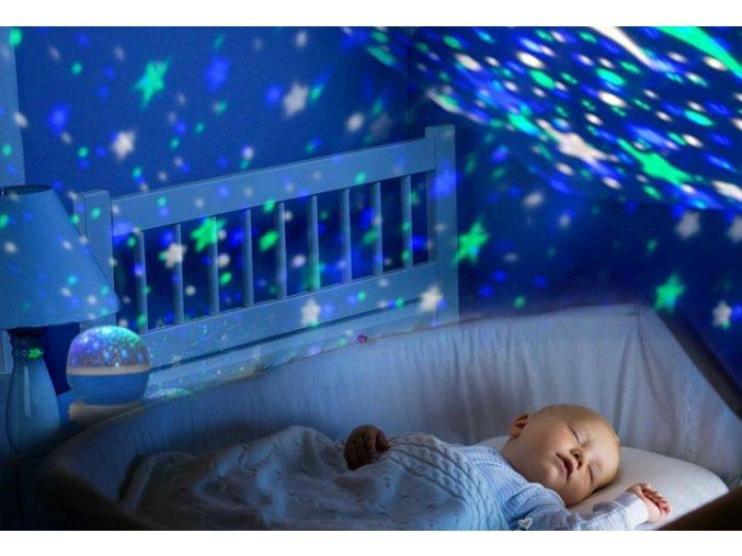 LED světlo noční obloha