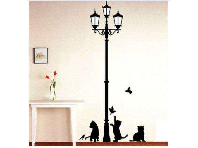 Samolepka na zeď Lampa