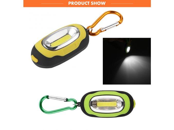 LED světlo na klíče