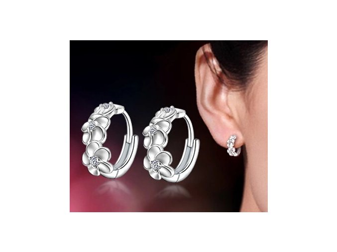 Promotion high quality shiny zircon fashion flower 30 silver plated ladies stud earrings jewelry drop shipping.jpg 640x640