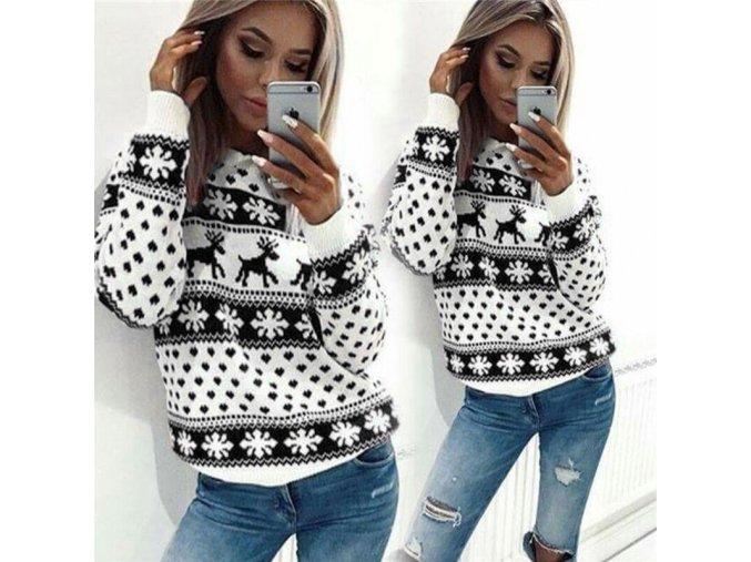 Dámský zimní svetr