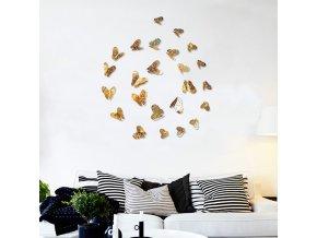 Dekorace na zeď - motýli