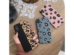 obal na iPhone s leopardím vzorem