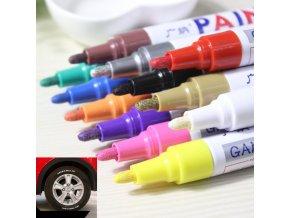 Barevné voděodolné pero