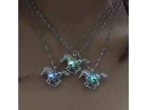 Dámský svítící náhrdelník