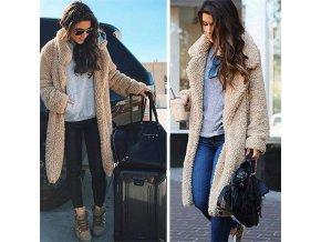 Dámský teplý kabát