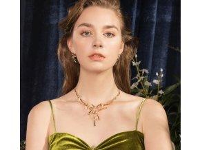 Dámský set náušnice + náhrdelník