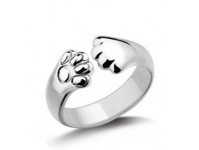 Dámský prstýnek s tlapičkami