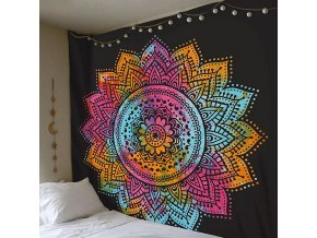 Závěsný koberec na zeď - mandala