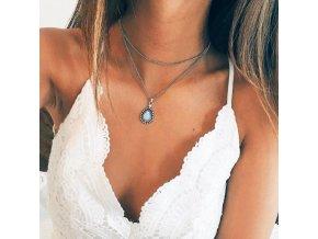 Dámský vrstvený náhrdelník