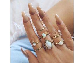 Sada dámských prstýnků