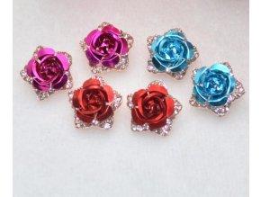 Dámské náušnice růže