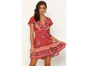 Dámské šaty s kytičkami