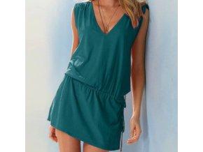 Dámské letní šaty s výstřihem