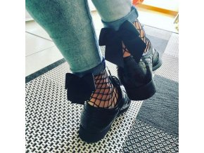 Dámské ponožky s mašličkou