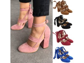 Dámské boty na podpatku