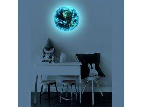 Nástěnná 3D dekorace Země