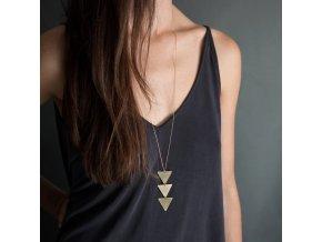 Geometrický náhrdelník