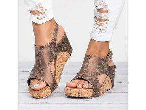 Dámské boty na platformě