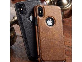 Koženkový obal na iPhone